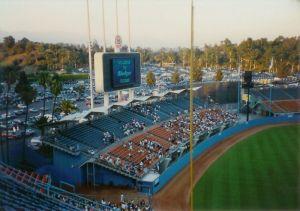 Los aficianados de los Dodgers